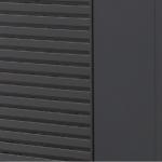 Kledning i pulverlakkert stål standard farge grå RAL 7021