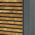 FLEX 10 kan også leveres med trekledning på sidepanel